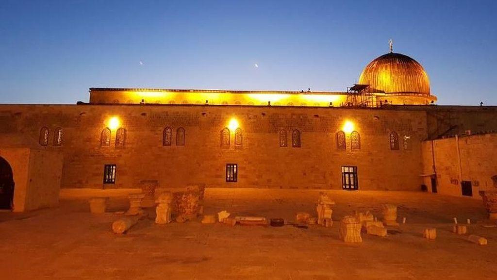 Cantiknya Masjid Aqsa dari Dekat, Bikin Hati Adem