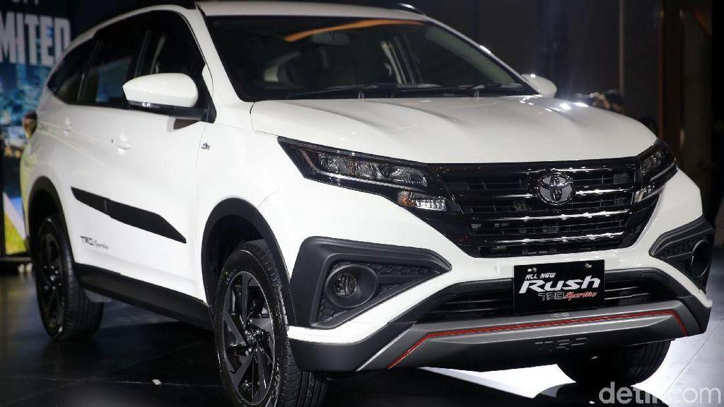 Toyota Bisa Saja Buat Rush Terbaru Versi 5 Kursi