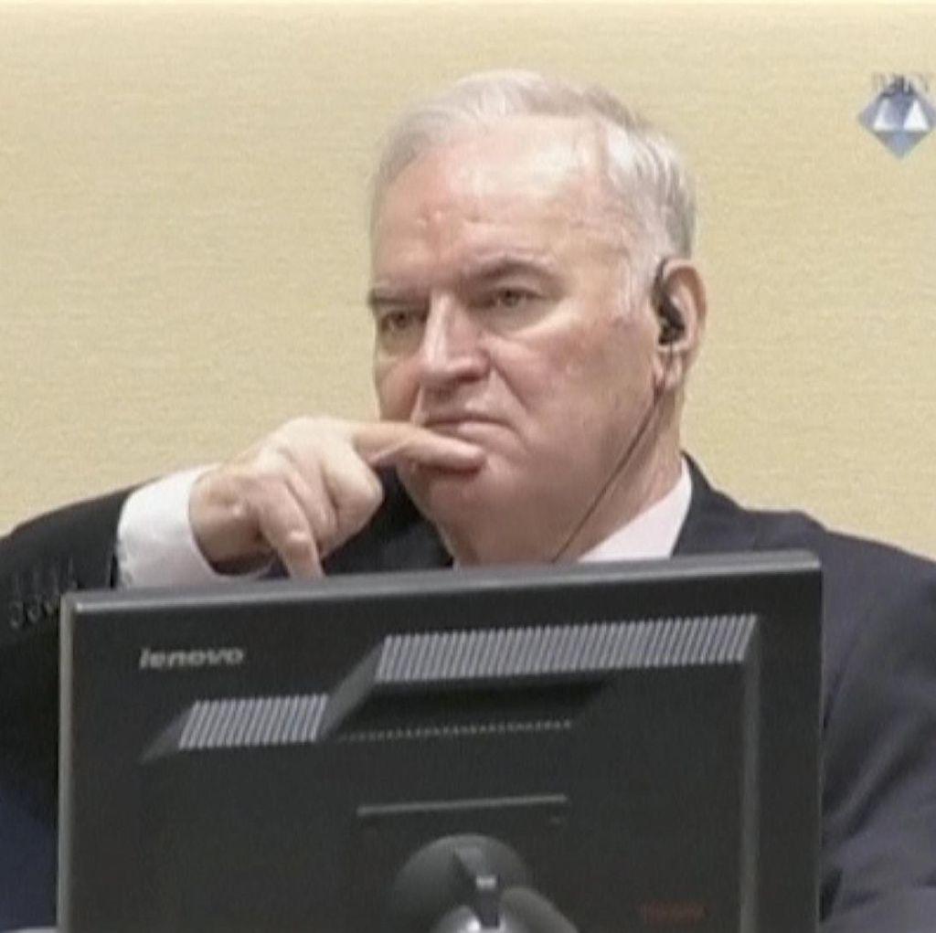 Sosok Ratko Mladik, Si Jagal Bosnia yang Divonis Seumur Hidup Bui