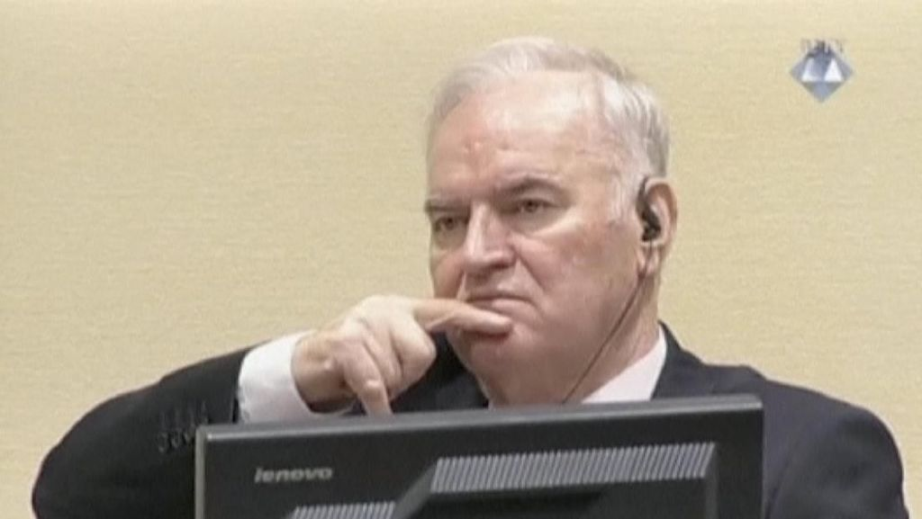 Ini Sosok Si Jagal Jenderal Mladic, Pembantai 7.000 Muslim Bosnia