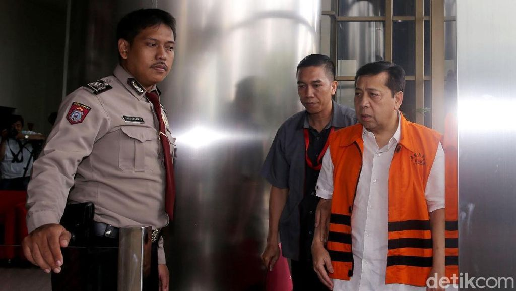 Polisi: Setya Novanto Mengaku Kepalanya Terbentur Kaca