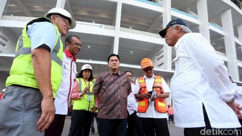 Erick Thohir Jamin Penyelenggaraan Asian Games 2018 Membanggakan