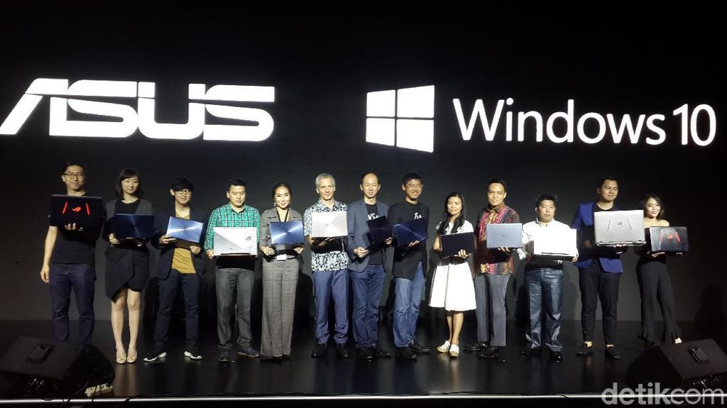 Kini Notebook Asus Dilengkapi Windows 10