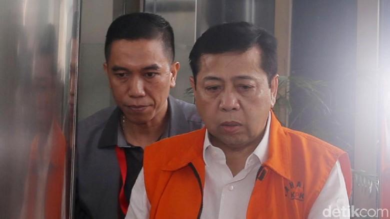 Setya Novanto Ajukan Saksi Meringankan, Termasuk Anggota DPR