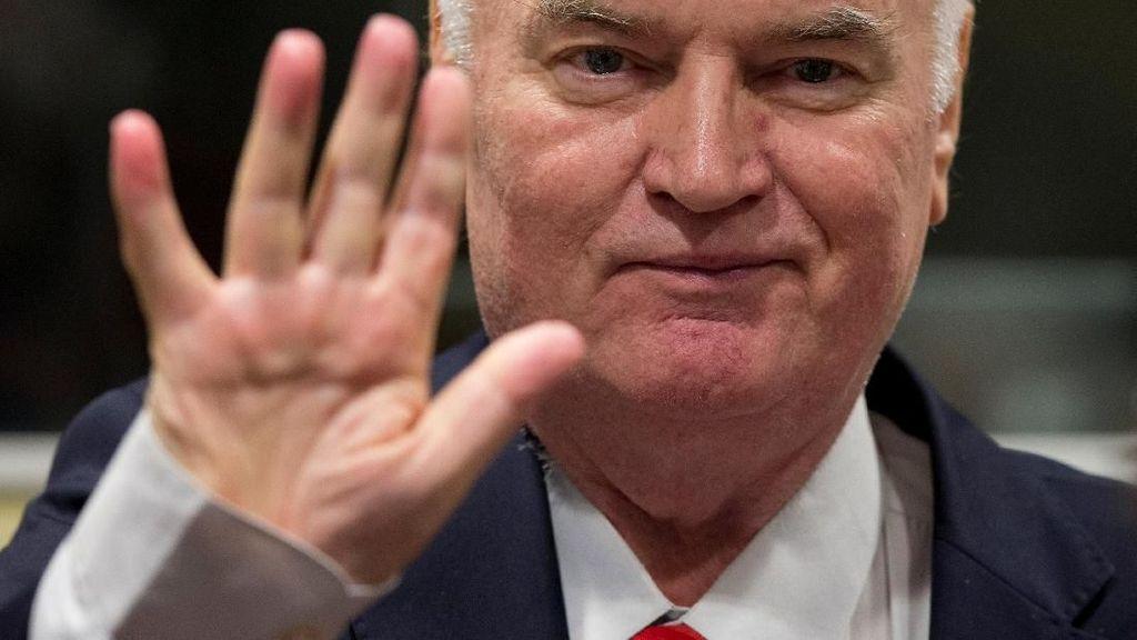 Ratko Mladic 'Si Jagal Bosnia' Divonis Setelah Diadili 4 Tahun Lebih