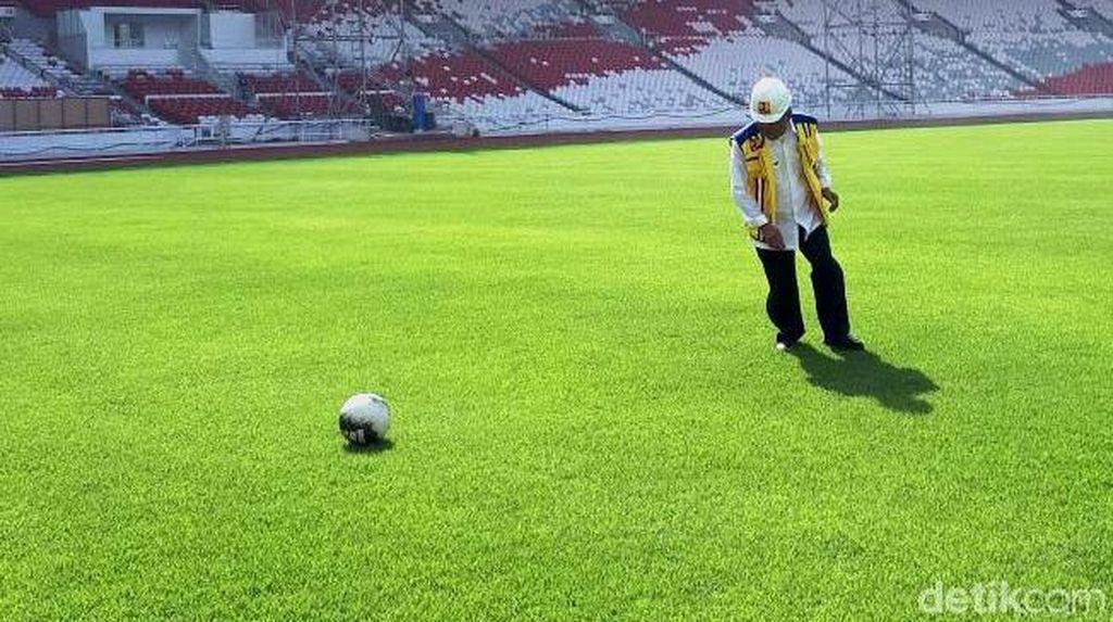 Perkara Rumput Bisa Ganjal Indonesia vs Islandia di GBK