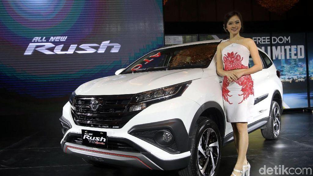 Toyota Luncurkan Rush Tanpa Konde
