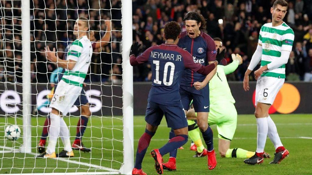 PSG Hancurkan Celtic 7-1