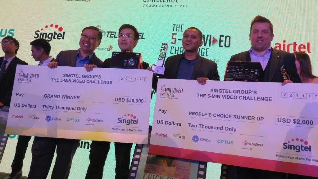 Indonesia Menang Kompetisi Video Pendek di Singapura