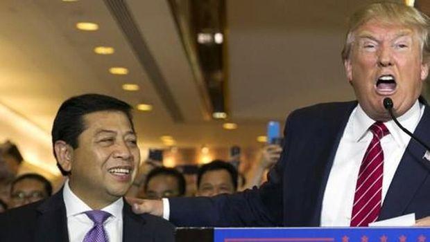 Setya Novanto dan Donald Trump