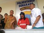 Polisi Semarang Ciduk Emak-emak yang Selundupkan Sabu di Mulut Mujaer