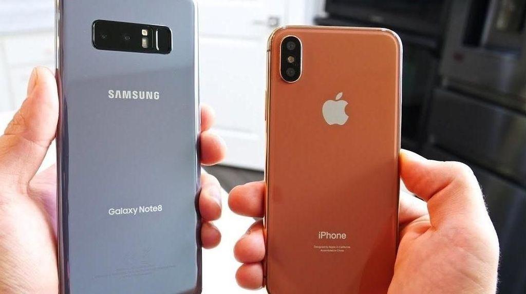 Perang Samsung vs Apple di Korsel