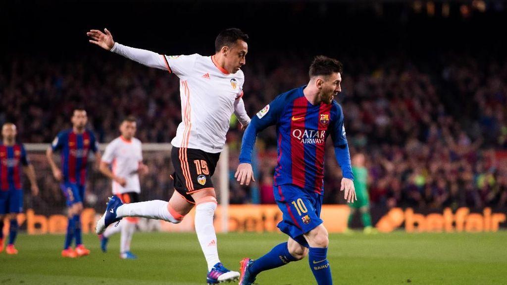 Laga Panas di Mestalla: Valencia vs Barcelona