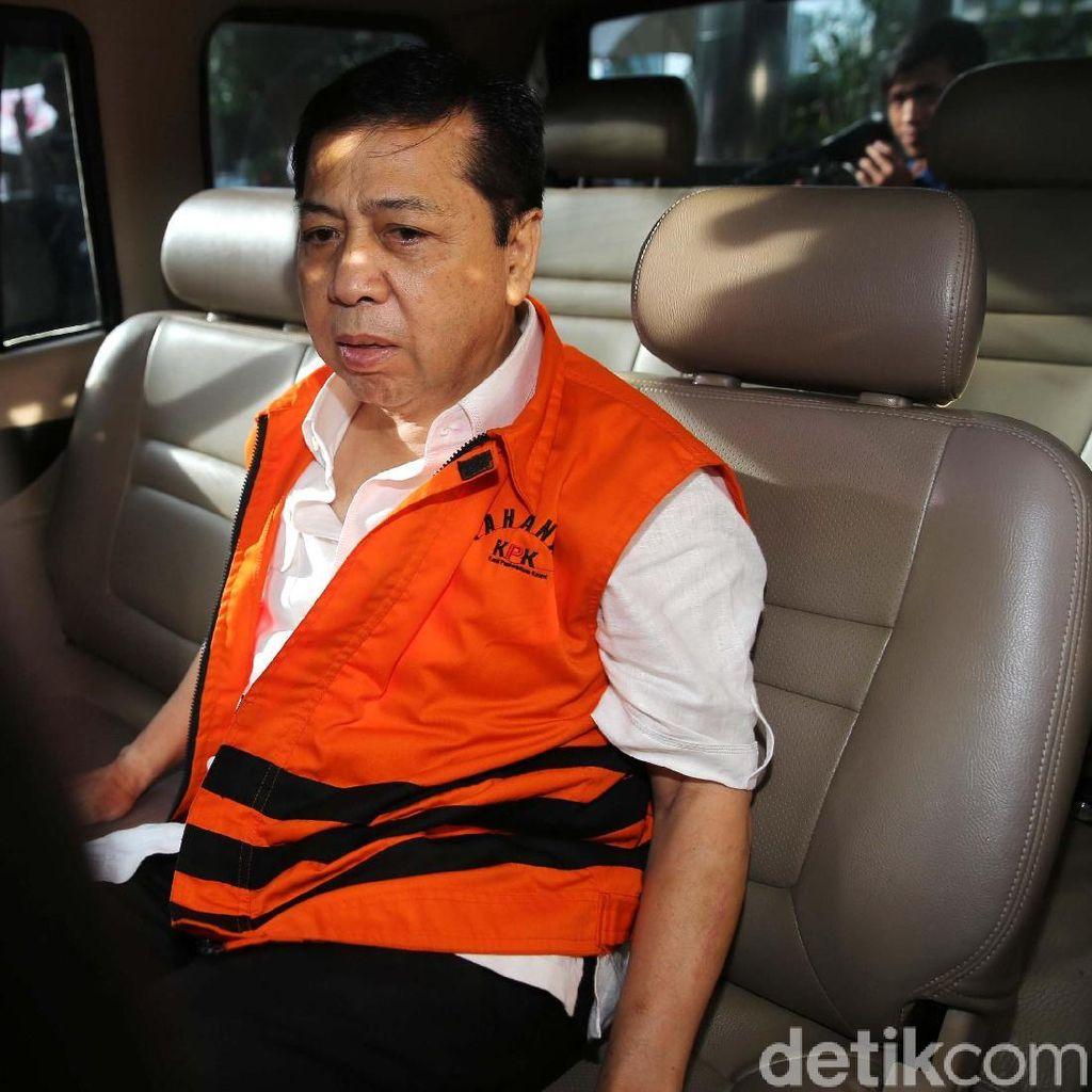 Video: Wajah Lelah Setya Novanto Usai 3 Jam Diperiksa KPK