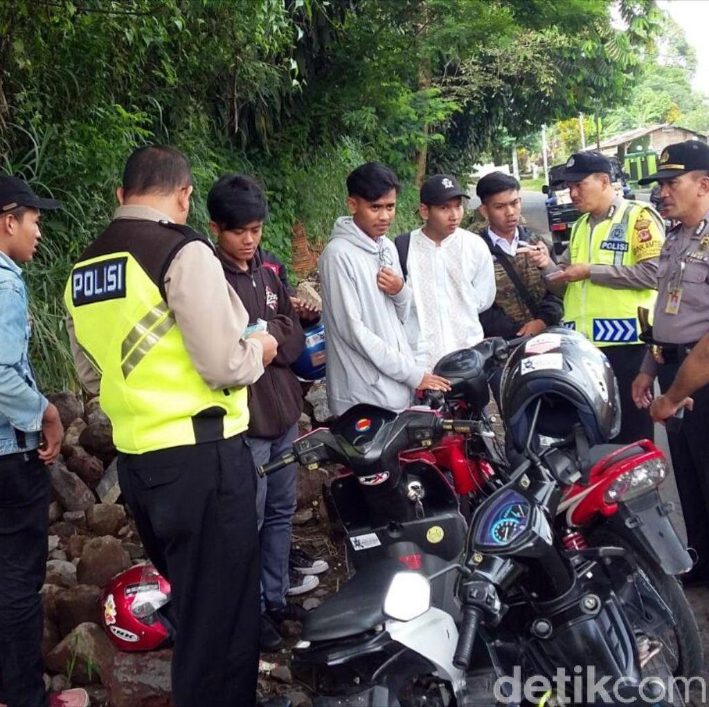 TNI dan Polisi di Sukabumi Giat #HantamTawuran