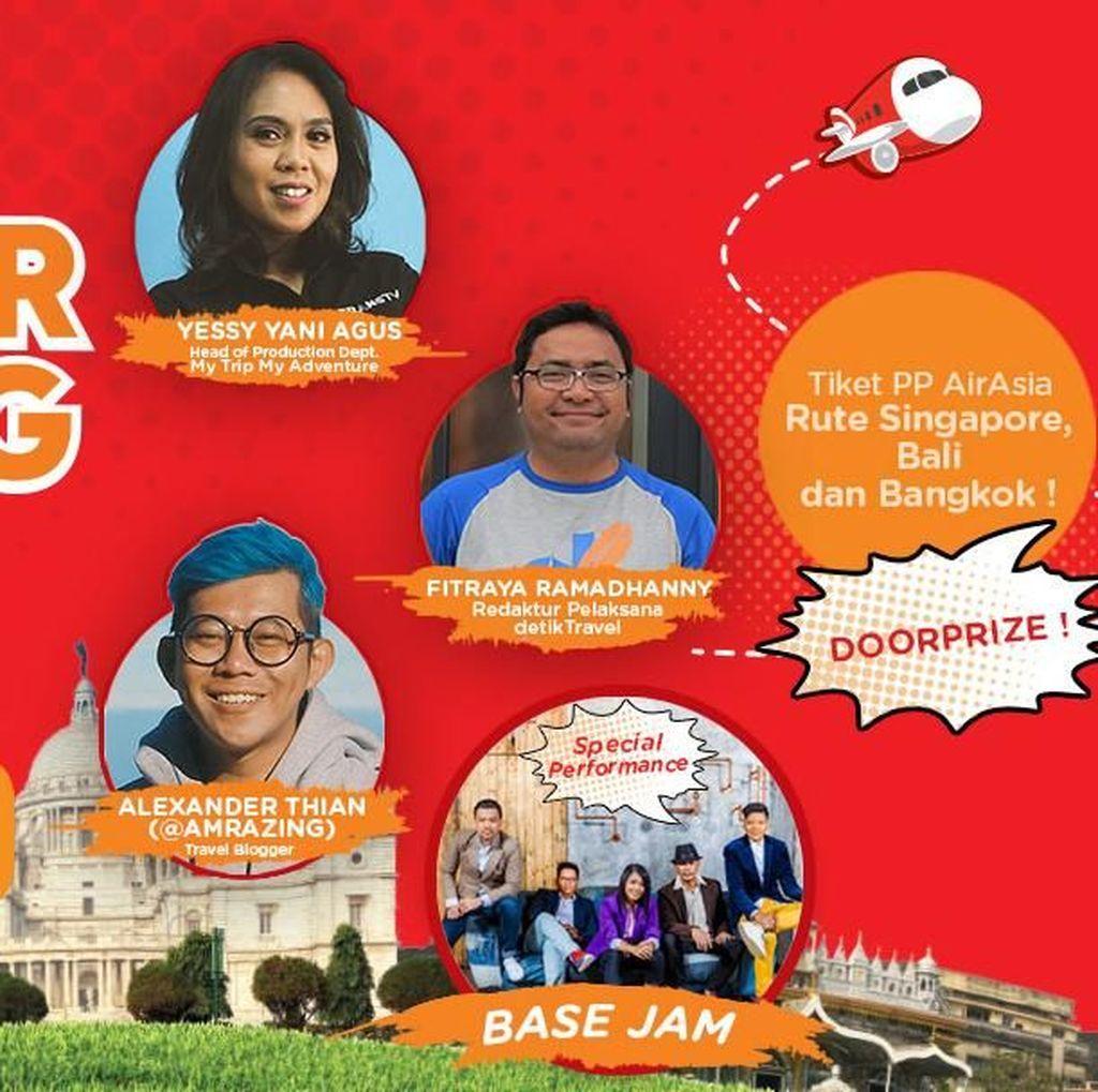 Mau Tiket PP AirAsia Gratis ke Singapura, Bali dan Bangkok?