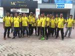 Doa Petugas Kebersihan di Medan untuk Kahiyang-Bobby