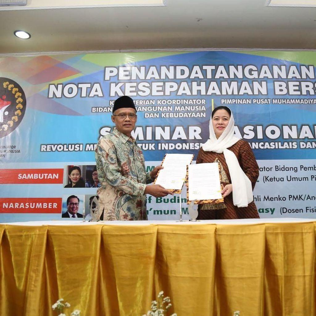 Pemerintah-Muhammadiyah Sinergi dalam Membangun Manusia & Budaya