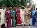 Kahiyang-Bobby Kedatangan Tamu Istimewa dari Warga Etnis India