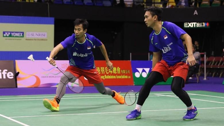 Ahsan/Rian Terhenti di Perempatfinal