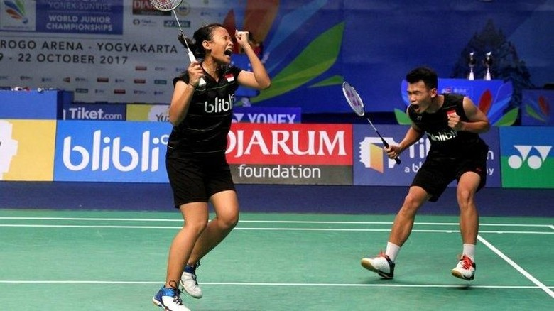 Berbekal Gelar Juara Dunia Junior, Rinov/Phita Akan Jajal Kejurnas