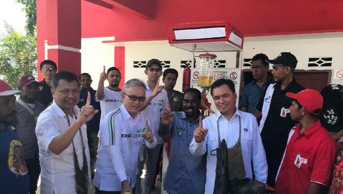 Hore! Kabupaten di Papua Ini Nikmati Harga BBM Seperti di Jawa