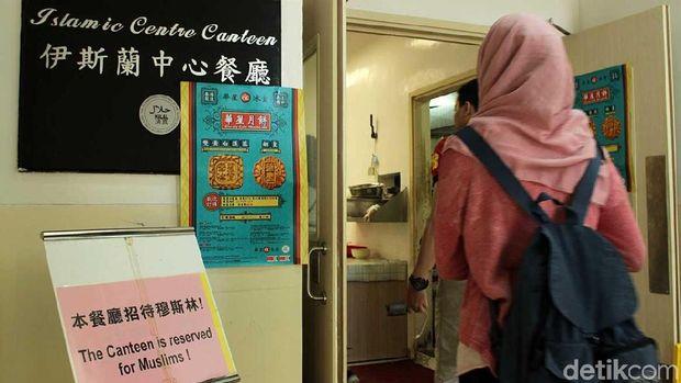 Kantin ini berada di daerah Wan Chai (Randy/detikTravel)