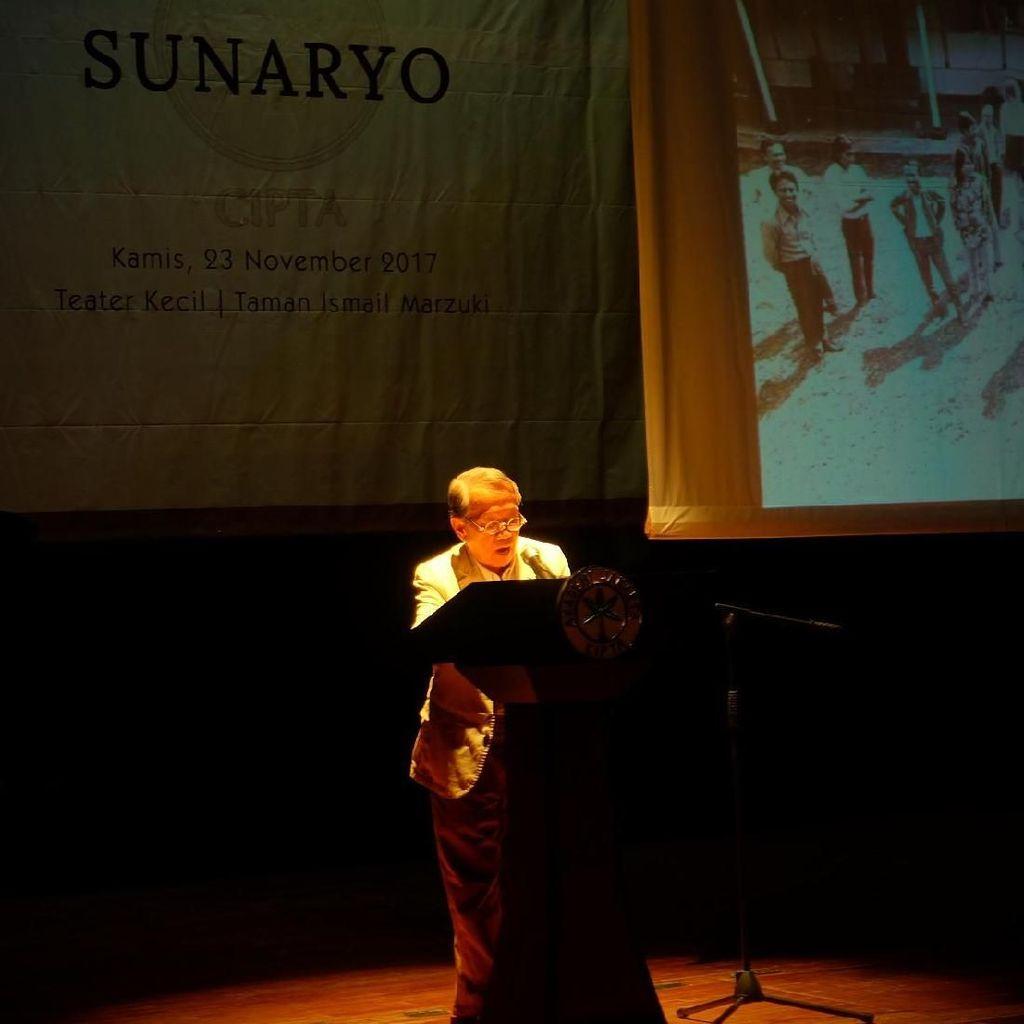 Sunaryo Gemar Menggambar Sejak Kecil hingga Dirikan Wot Batu