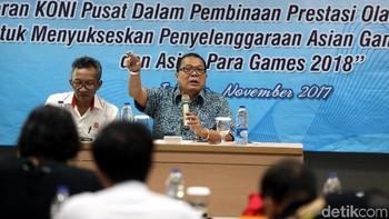 KONI Gelar Diskusi Bahas Asian Games