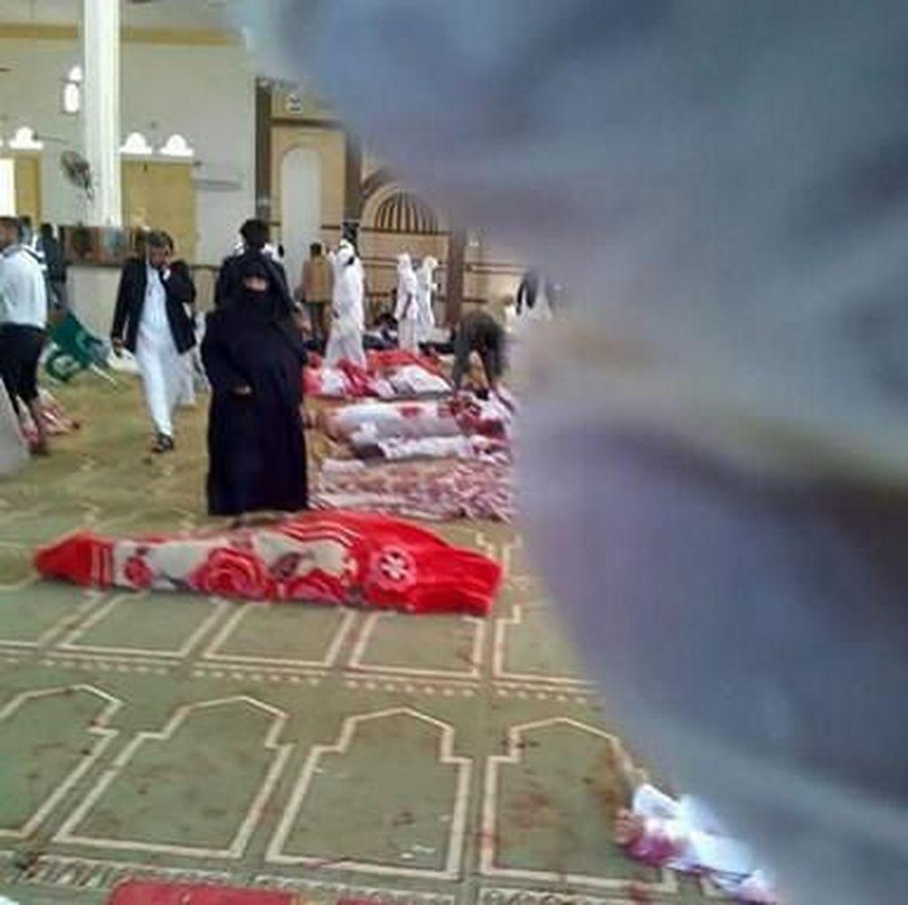 Buntut Bom di Masjid, Mesir Tetapkan 3 Hari Masa Berkabung Nasional