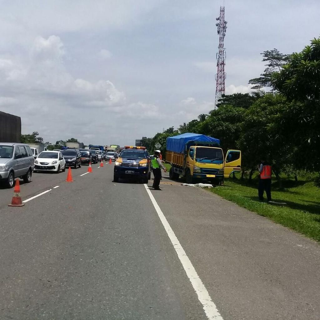 Kecelakaan Karambol di Tol Jagorawi, 1 Orang Meninggal Dunia
