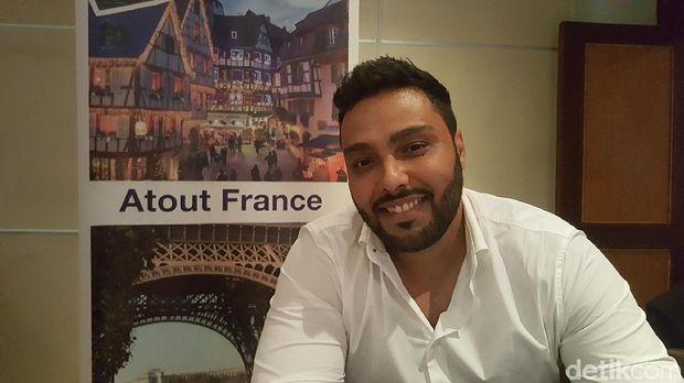 Regional Director ASEAN Atout France, Morad Tayebi (Fitraya/detikTravel)