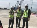 Menhub Targetkan Pelabuhan Kuala Tanjung Beroperasi Maret 2018