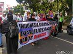 Demo di Bareskrim, Massa 2411 Ingin Kasus Pidato Viktor Dituntaskan