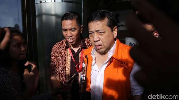 KPK akan Periksa Saksi Meringankan Novanto, Ada 7 Politikus Golkar