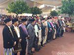 Pesta Adat Kahiyang-Bobby, Darmin Ucapkan Terima Kasih ke Raja-raja