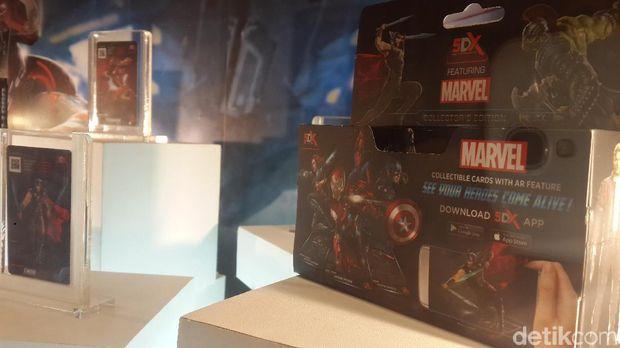 Pertama di Indonesia, Tokoh Marvel 'Dihidupkan' Lewat Augmented Reality