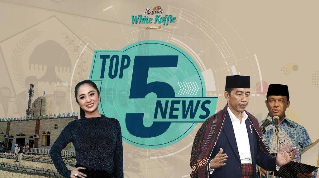 Jokowi Manortor di Pesta Adat Kahiyang, Pesan Anies di Hari Guru