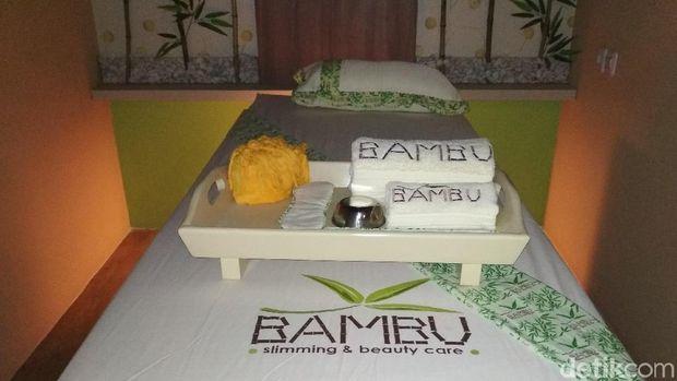 Bisnis kecantikan Bambu Spa