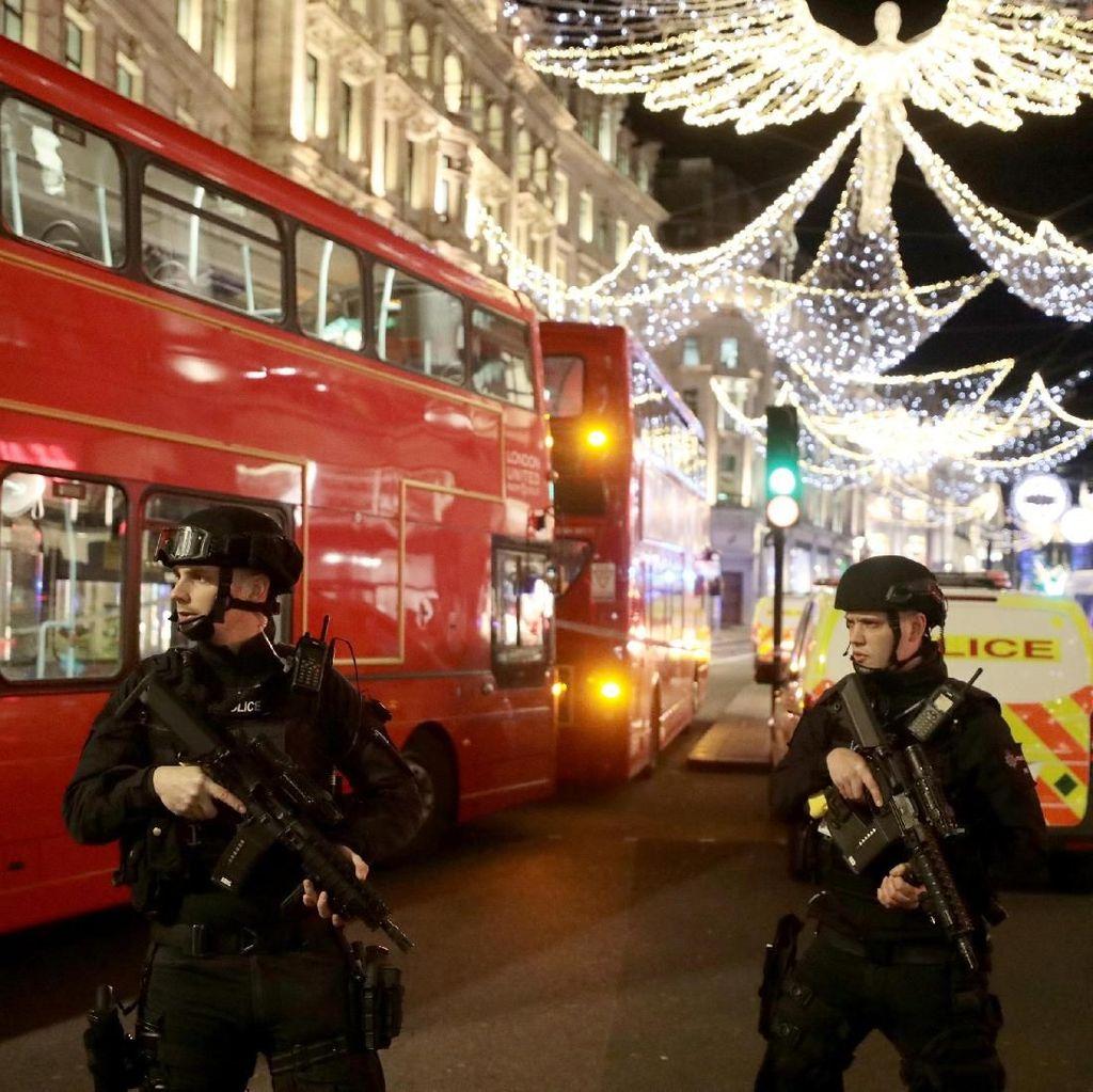 2 Pria yang Picu Rumor Penembakan di London Diburu Polisi