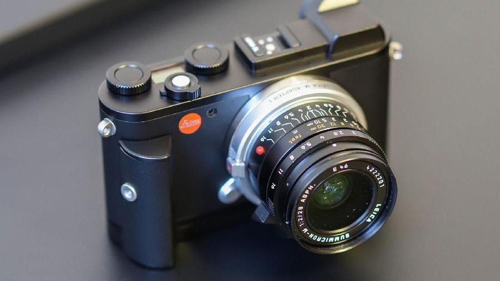 Leica Rilis Mirrorless Mungil Bergaya Retro