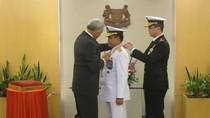 KSAL Terima Penghargaan Militer dari Pemerintah Singapura