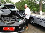 Mobil Dinas Sekda Cimahi Kecelakaan, Sekprinya Meninggal Dunia