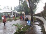 Tamu Mulai Tinggalkan Lokasi Puncak Pesta Adat Kahiyang-Bobby