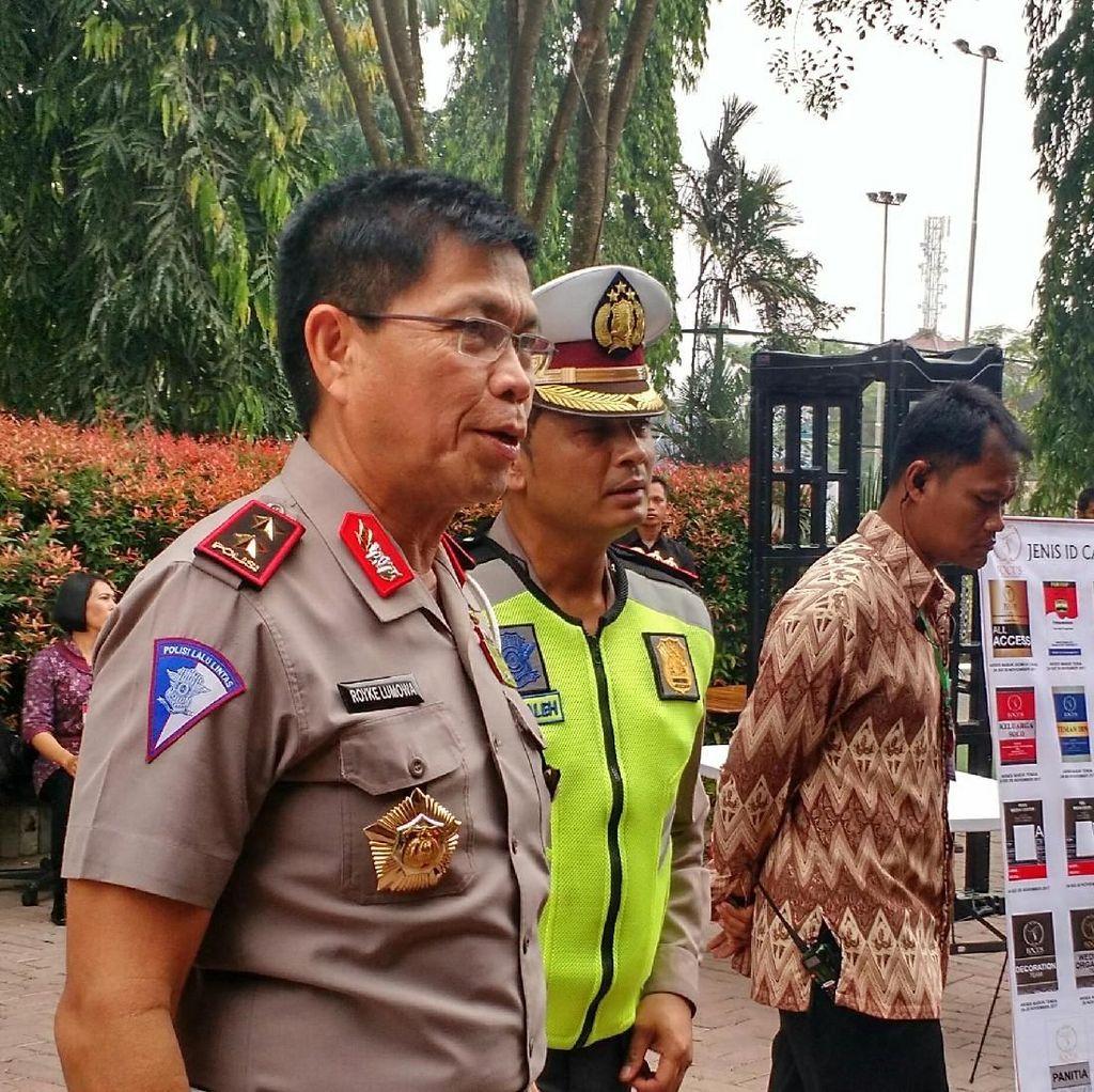 Cegah Macet, Polisi Imbau Warga Medan Hindari Kawasan Kahiyang-Bobby