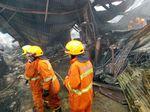 Gudang Mebel di Kota Bandung Habis Dilalap Si Jago Merah