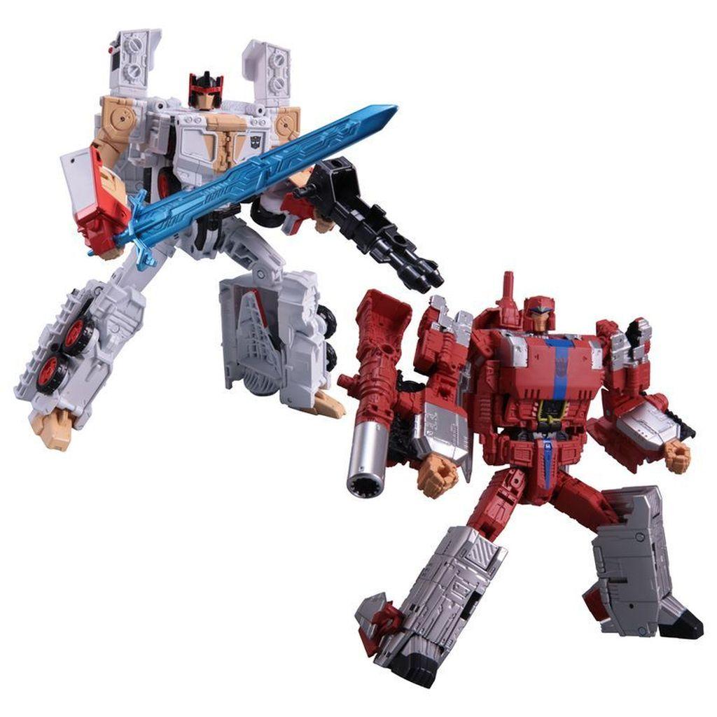 Keduanya tengah menjalin kerjasama untuk menghadirkan mainan baru di lini Transformers berbasis Street Fighter 2. Foto: istimewa