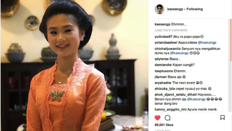 Usai Ditanya Kapan Nyusul?, Kaesang Pamer Foto Pacar di Instagram