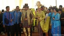 Doa Para Menteri, Panglima TNI, dan Kapolri untuk Kahiyang-Bobby