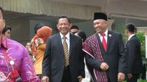 Kapolri dan Panglima TNI Hadiri Resepsi Kahiyang di Medan